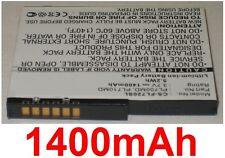 Batterie Pour FUJITSU-Siemens Loox LOOX 700 710 718 720 720b 728 1400mAh