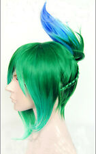 League of Legends LOL Riven Anime Costume Cosplay Wig +CAP