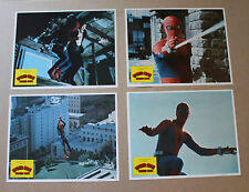 SPIDER-MAN STRIKES BACK LOBBY CARD SET SPIDERMAN STRIKES BACK 8 CARD SET