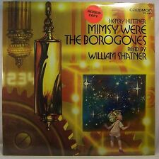 Henry Kuttner MIMSY WERE THE BOROGOVES Read by William Shatner Factory Sealed LP