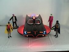 1/10 CUSTOM 1966 BATMOBILE ELECTRIC-SOUNDS-LED WORKING LIGHTS 18 INCHES VIDEO