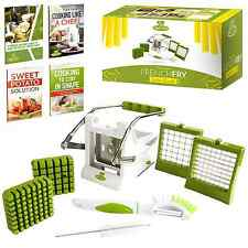 Chef's Path Easy Food Dicer  French Fry Potato Cutter Bundle Vegetable Slicer