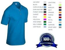12 Custom Embroidered * FREE LOGO Dry Blend POLO SHIRTS Embroidery Personalized