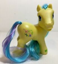 My Little Pony G3 Meadowbrook (very pearly body, lime green hoof heart)