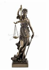 Blind Lady Justice Sculpture Lawyer Gift Statue Figurine