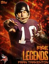 Topps Huddle FRAN TARKENTON Fire Legends Digital Cards