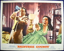 RAINTREE COUNTY MOVIE POSTER Elizabeth Taylor Montgomery Clift Lobby Card #8