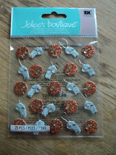 EK SUCCESS JOLEE'S BOUTIQUE BASKETBALL & WHISTLE REPEATS DIMENSIONAL STICKER BN