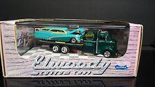 1/64 1997 Hot Wheels Elwoody Custom 38' Ford COE Car Hauler 50' Buick Wagon MIB