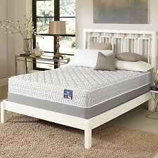 Serta Gleam Firm Full-size Mattress Set