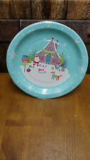 Wilkinsons Pack Of 8 Christmas Paper Plates.