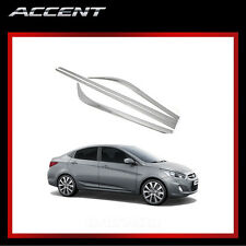 Chrome Side Skirt Cover Molding Trim B755 for 2012 - 2013 Hyundai ACCENT 4/5door