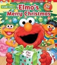 Sesame Street: Elmo's Merry Christmas Lift-the-Flap