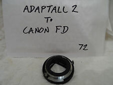 TAMRON ADAPTALL-2 MOUNT for CANON FD 35mm FILM SLRs  f1 t90