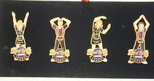 Hard Rock Cafe London Casino YMCA Boxed 4 Pin Set .