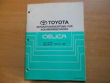 Reparaturanleitung für Kollisionsschäden Toyota CELICA 10.1989 BRM022M