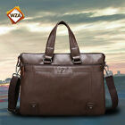 Men's Mans Leather Bag Briefcase Handbag Shoulder Messenger Work Kangaroo Luxury