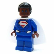 Lego Custom LEGO - - - - SUPERMAN EARTH- 2 WHITE CAPE  - - - batman marvel  dc