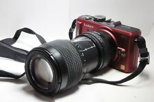 70-210mm= lens 140-420mm on Panasonic G lumix HD Micro Digital SLR G7 GM1 GF7 G6