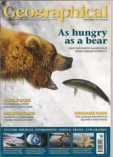 the geographical magazine-SEPT 2010-AS HUNGRY AS A BEAR.