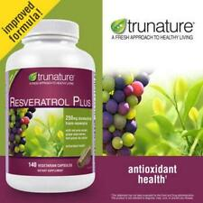 trunature Resveratrol Plus, 140 Vegetarian Capsules