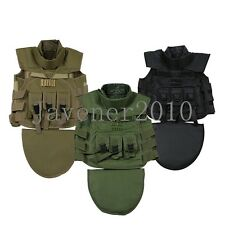 Multi-function protection combat Military tactical vest CS field equipment