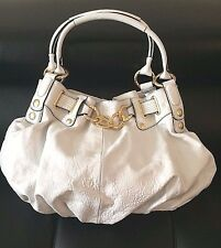 Juicy Couture Handbag White leather & Gold Collector Piece Retail $998 Nordstrom