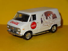 1976 CHEVY COCA-COLA COKE DELIVERY SERVICE VAN WHITE BEAR 1/64 LIMITED EDITION P