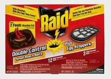 New Raid Bait Station Roach Killer 12 pk Easy to use, no clean-up, no odor