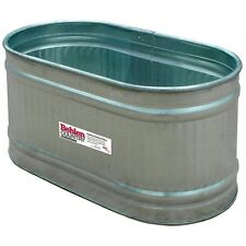 Livestock Feeder Water Oval Tank Horse Farm Behlen Country Galvanized  90 Gal