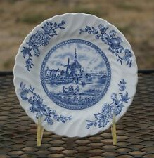 Johnson Brothers TULIP TIME BLUE Bread/Side Plate 6 ¼""