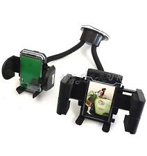 car windscreen Suction Twin Gadget Sat Nav Holder Phone iPod Android Hands free
