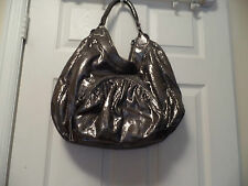 BOTKIER GORGEOUS METALLIC SUPER SOFT LARGE HANDBAG EUC