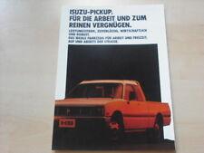 54480) Isuzu Pickup Prospekt 09/1985