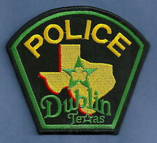 DUBLIN TEXAS POLICE PATCH