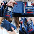Classic Women's Fashion Leather Wallet Button Clutch Purse Lady Long Handbag Bag