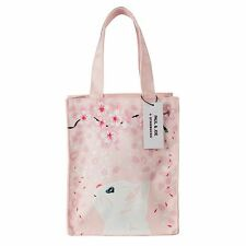 2017 Starbucks  Taiwan Paul & Joe PINK CAT tote bag