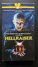 HELLRAISER (NTSC Collector's Edition) SIGNED BY DOUG BRADLEY! (PINHEAD)