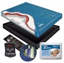 Premium Ultra Waveless Lumbar Waterbed Mattress Kit Bed Set King Size w/ Heater