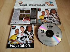 PLAY STATION PSX PS1 FIFA FOOTBALL 2003 COMPLETO PAL ESPAÑA