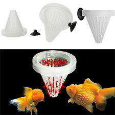 4x Aquarium Red Worm Feeder Cone Feeding for Fish Tank Angel Fish Discus Fish fo