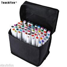 TouchFive Colors Graphic Art Twin Tip Pen Marker Point FASHION DESIGN 60 COLORS