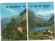 65 - cpsm - Le télésiège et lelac de Gaube (H6527)
