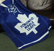 Toronto Maple Leafs NHL Hockey Fleece Throw Blanket by Northwest