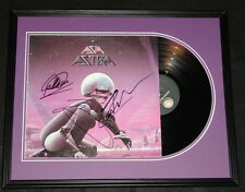 Asia Group Signed Framed 1985 Astra Record Album Display
