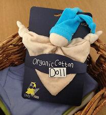 KEPTIN JR coton biologique jouet zmooz Consolateur couverture poupée hochet-Bleu 18.30.5