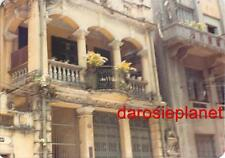 1970s HONG KONG Original Photo COLONIAL ARCHITECTURE DETAIL BALCONIES CHINA