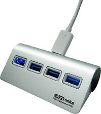 Portronics 4 Port USB3.0 Type-C Hub for Macbook-Silver (POR553)
