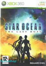 Star Ocean: The Last Hope Microsoft Xbox 360 12+ RPG Role Playing Game