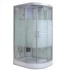 Deluxe Duschkabine WHAWP-120-DT-R 120x80 (rechts) ohne Dampf  Duschwanne Dusche